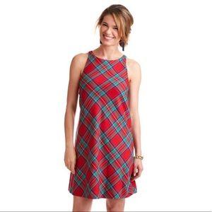 Vineyard Vine Jolly Plaid Shift New Dress $198